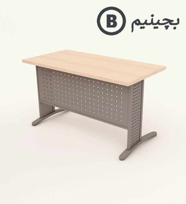 میز کامپیوتر پایه فلزی