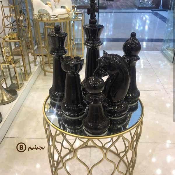 مهره شطرنج دکوری مجموعه 6 عددی