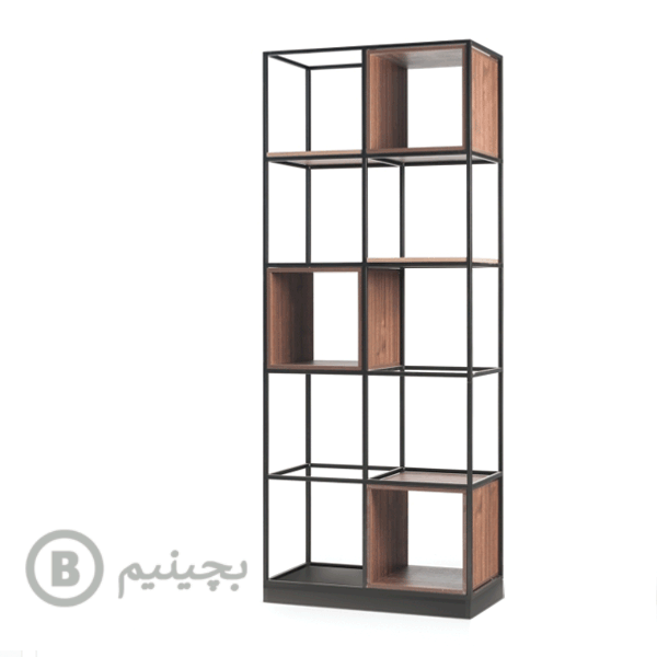 کتابخانه- شلف فلزی