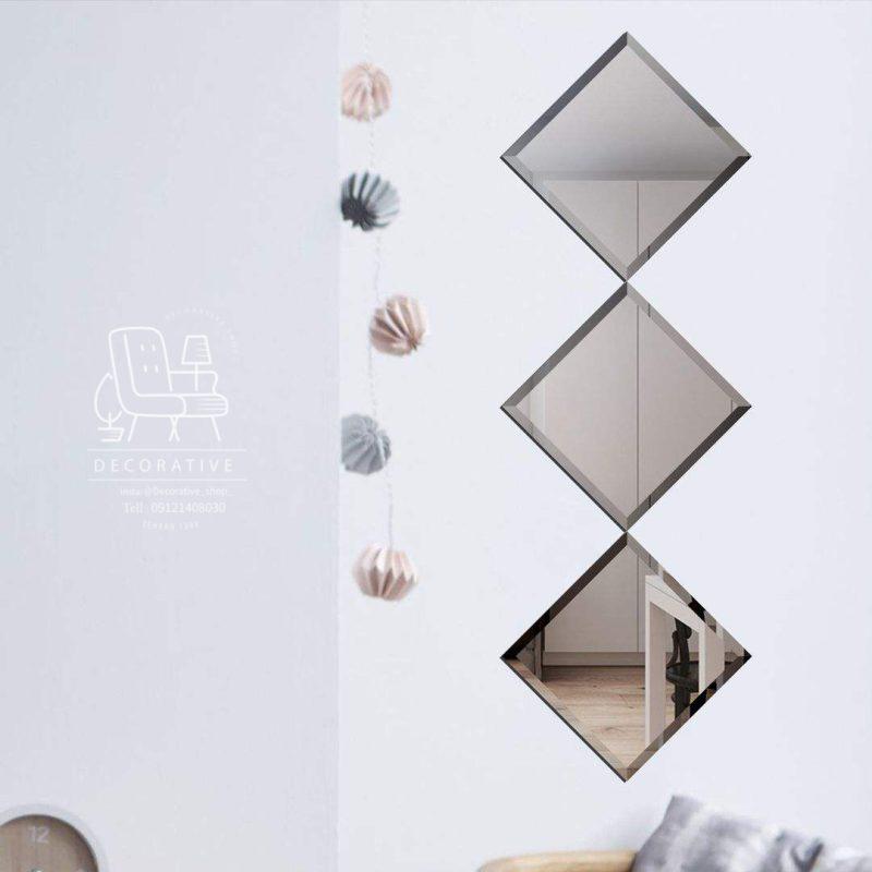آینه دکوراتیو روی ستون